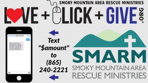 Sensible Concrete Pumping, Sensible Concrete Works, SMARM, SMARM Book Closet, SMARM portable Library, Smoky Mountain Area Rescue Ministries