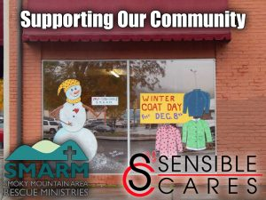 Sensible Concrete Pumping, Sensible Concrete Works, SMARM, SMARM Book Closet, SMARM portable Library, Smoky Mountain Area Rescue Ministries